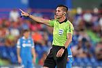 Spanish referee Carlos Del Cerro Grande during friendly match. August 10,2019. (ALTERPHOTOS/Acero)