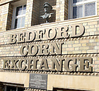 Bedford, UK - Bedford Corn Exchange -  A selection of views of the county town of Bedford, England - 15th September 2012..Photo by Keith Mayhew