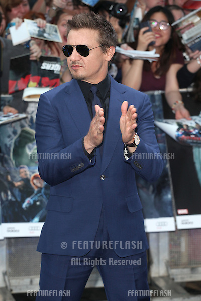 Jeremy Renner arriving for the Avengers: Age Of Ultron premiere, at Westfield Shepherd's Bush, London. 21/04/2015 Picture by: Alexandra Glen / Featureflash
