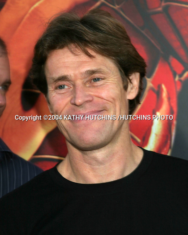 "©2004 KATHY HUTCHINS /HUTCHINS PHOTO.""SPIDERMAN 2"" PREMIERE.WESTWOOD, CA.JUNE 22, 2004..WILLIAM DAFOE"