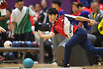 Shogo Wada (JPN), <br /> AUGUST 23, 2018 - Bowling : <br /> Men's Trios Block 1 <br /> at Jakabaring Sport Center Bowling Center <br /> during the 2018 Jakarta Palembang Asian Games <br /> in Palembang, Indonesia. <br /> (Photo by Yohei Osada/AFLO SPORT)