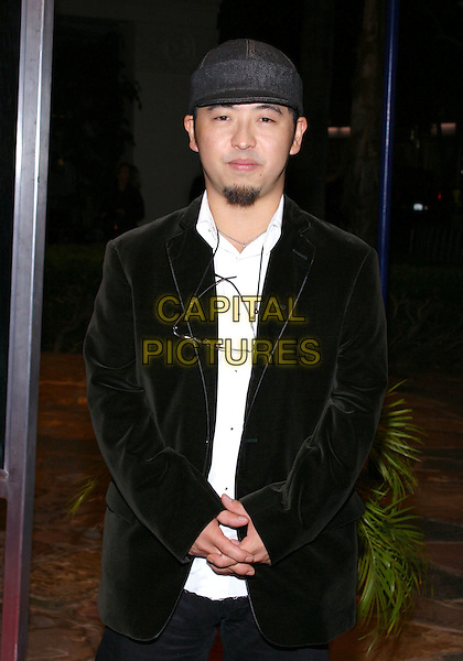 "Takashi Shimizu.""The Grudge"" Premiere, held at the Mann Village Theatre, Westwood, California, USA, Ocober 12th 2004..half length beard facial hair hat.**UK SALES ONLY**.Ref:ADM.www.capitalpictures.com.sales@capitalpictures.com.©JW/AdMedia/Capital Pictures ."