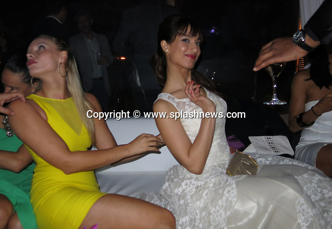 EXCLUSIVE: Weinstein Party, sponsored by Chopard and Lexus at Baoli Beach during the Cannes Film Festival.<br /><br />Pictured: Guests<br />Ref: SPL546128  180513   EXCLUSIVE<br />Picture by: CelebrityVibe / Splash News<br /><br />Splash News and Pictures<br />Los Angeles:310-821-2666<br />New York:212-619-2666<br />London:870-934-2666<br />photodesk@splashnews.com