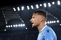 Ciro Immobile of SS Lazio reacts at the moment of his substitution <br /> Roma 22-9-2019 Stadio Olimpico <br /> Football Serie A 2019/2020 <br /> SS Lazio - Parma Calcio <br /> Foto Andrea Staccioli / Insidefoto