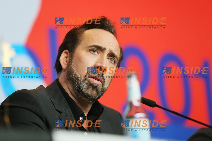 Nicola Cage. Berlin 15/02/2013. 63th Berlinale 'The Croods' press Conference. foto Mark Cape/Insidefoto