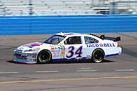 Apr 17, 2009; Avondale, AZ, USA; NASCAR Sprint Cup Series driver John Andretti during practice for the Subway Fresh Fit 500 at Phoenix International Raceway. Mandatory Credit: Mark J. Rebilas-