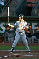 Roberto Ramos (47) of the Grand Junction Rockies at bat against the Ogden Raptors in Pioneer League action at Lindquist Field on August 24, 2016 in Ogden, Utah. The Raptors defeated the Rockies 11-10. (Stephen Smith/Four Seam Images)
