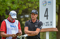 Henrik Stenson (SWE) looks over his tee shot on 4 during day 4 of the WGC Dell Match Play, at the Austin Country Club, Austin, Texas, USA. 3/30/2019.<br /> Picture: Golffile | Ken Murray<br /> <br /> <br /> All photo usage must carry mandatory copyright credit (© Golffile | Ken Murray)