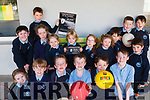 Students from Kilcummin National School launching a fundraising concert for their new school hall. <br /> Front left to right Melissa O'Connor, Cillian O'Leary, Eoin Foley, Daragh Keane, David Lowlin and Rian Moran. <br /> Back left to right Pierce Moran, Ronan O'Connor, Ciara Foley, Emily O'Connor, David O'Mahony, Naoise Fleming, Holly Tangney, Cillian Sheehan, Michael O'Connor, Dan Barry and James Sheehan.