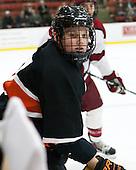 Tucker Brockett (Princeton - 7) - The Harvard University Crimson defeated the Princeton University Tigers 3-2 on Friday, January 31, 2014, at the Bright-Landry Hockey Center in Cambridge, Massachusetts.