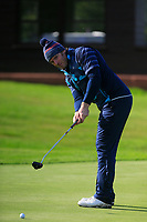 Paul Roche (Palmerstown House)  during the final of the Irish Mid-Amateur Open Championship, Royal Belfast Golf CLub, Hollywood, Down, Ireland. 29/09/2019.<br /> Picture Fran Caffrey / Golffile.ie<br /> <br /> All photo usage must carry mandatory copyright credit (© Golffile   Fran Caffrey)