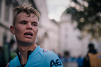 Senne Leysen (BEL)<br /> <br /> MEN UNDER 23 INDIVIDUAL TIME TRIAL<br /> Hall-Wattens to Innsbruck: 27.8 km<br /> <br /> UCI 2018 Road World Championships<br /> Innsbruck - Tirol / Austria