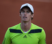 ANDY MURRAY (GBR)<br /> <br /> Tennis - French Open 2014 -  Toland Garros - Paris -  ATP-WTA - ITF - 2014  - France - <br /> 4th June 2014. <br /> <br /> &copy; AMN IMAGES