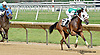 Ms Charisma MHF winning The Beautiful day Stakes at Delaware Park racetrack on 7/3/14