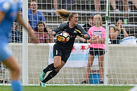 Bridgeview, IL - Sunday August 20, 2017: Alyssa Naeher during a regular season National Women's Soccer League (NWSL) match between the Chicago Red Stars and FC Kansas City at Toyota Park. KC Kansas City won 3-1.