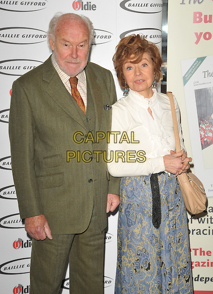 Timothy West &amp; Prunella Scales attend the Oldie of the Year Awards 2016, Simpson's-in-the-Strand, The Strand, London, UK, on Tuesday 02 February 2016.<br /> CAP/CAN<br /> &copy;CAN/Capital Pictures