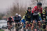 Tiesj Benoot (BEL/Lotto-Soudal)<br /> <br /> 61th E3 Harelbeke (1.UWT)<br /> Harelbeke - Harelbeke (206km)