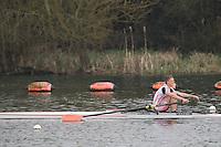 Caversham. Berkshire. UK<br /> Edward FISHER.<br /> 2016 GBRowing U23 Trials at the GBRowing Training base near Reading, Berkshire.<br /> <br /> Monday  11/04/2016 <br /> <br /> [Mandatory Credit; Peter SPURRIER/Intersport-images]