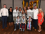 Karen Smith celebrating her 30th birthday with her family in Brú. Photo:Colin Bell/pressphotos.ie