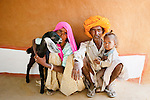 Life in a small Rajasthan village, India