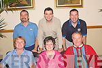 MEETING: Kerins O'Rahillys GAA club organising committee held a meeting in the clubhouse at Strand Road, Tralee last Monday night ahead of the official opening of their new club grounds and facilities at Ballyrickard, Tralee in which they are very proudly naming Pat Healy Park. Front l-r: Shane Ronan, Breda Dyland and Miche?al Kerins. Back l-r: Peter Nolan, Billy Thompson and Ray Walsh.   Copyright Kerry's Eye 2008