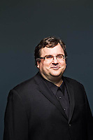 Reid Hoffman pictures: executive portrait photography of Reid Hoffman of LinkedIn, by San Francisco corporate photographer Eric Millette