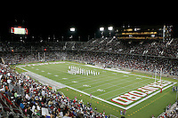 16 September 2006: Halftime performance by the Navy Band during Stanford's 37-9 loss to Navy during the grand opening of the new Stanford Stadium in Stanford, CA.