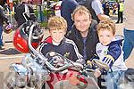 Easy Riders Leon. Richard and Dean Hourigan Tralee at the Irish Motorbike rally in the Gleneagle Hotel Killarney on Saturday