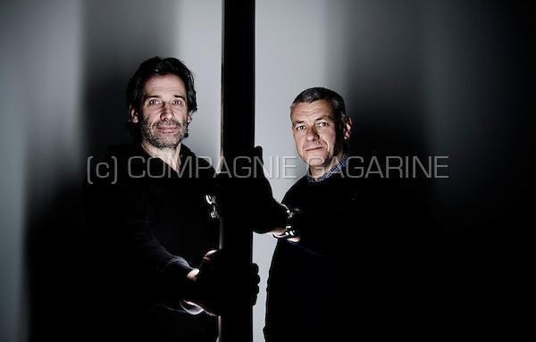 Belgian national volleyball coaches Dominique Baeyens and Gert Vande Broek (Belgium, 10/01/2014)
