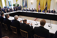 AT&amp;T Senior Executive Randall Stephenson speaks during the American Leadership in Emerging Technology Event in the East Room of the White House in Washington, DC, on June 22, 2017. <br /> Credit: Olivier Douliery / Pool via CNP /MediaPunch