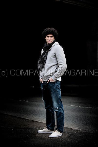 Belgian Moroccon football player Marouane Fellaini (England, 31/01/2013)