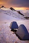 Base camp on Mount Shuksan