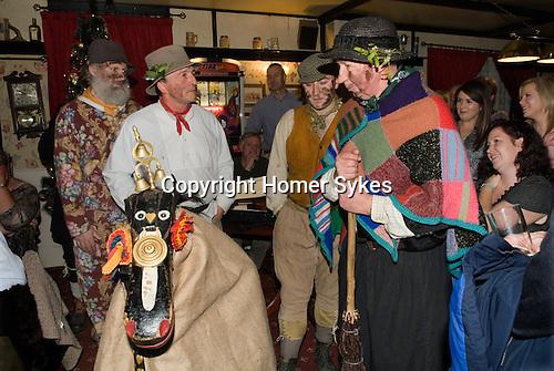 Hooden Horse performance at The Bell Inn Nicholas-at-Wade Kent UK 2014.