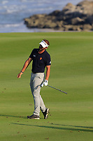 Joost Luiten (NED) during the first round of the NBO Open played at Al Mouj Golf, Muscat, Sultanate of Oman. <br /> 15/02/2018.<br /> Picture: Golffile | Phil Inglis<br /> <br /> <br /> All photo usage must carry mandatory copyright credit (&copy; Golffile | Phil Inglis)
