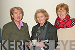 At the concert in aid of the Kerry Parkinson's Association in Siamsa Tire on Sunday night were Elish Lynch, Kilarney, Kathleen O' Malley Beaufort, Elish Lionsigh, Ballyvourney..   Copyright Kerry's Eye 2008