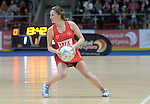 Wales Bethan Dyke in action during todays match   <br /> <br /> Swansea University International Netball Test Series: Wales v New Zealand<br /> Ice Arena Wales<br /> 08.02.17<br /> &copy;Ian Cook - Sportingwales