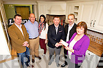Winner of the Kerry's Eye, Leane's Kitchens & Bedrooms Competition Maura Corcoran from Cahersiveen, also in photo are Padraig Leane, Brendan Kennelly, Marketing Manager, Kerry's Eye,  Leann Corcoran, Caherslee, , Cormac Leane and Brendan O'Mahony