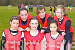 Pobail Scoil Inbhear Sceine, Kenmare athletes who competed in the Vocational Schools Cross Country championships in Killarney on Wednesday l-r: Mary Burns, Aicha van Daele, Helena O'Sullivan, Mikaela Mulcahy, Stephanie Burns and Saoirse Hayes ..