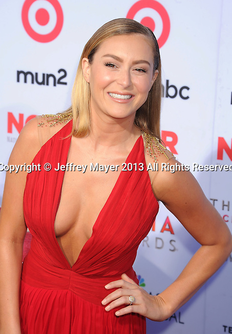 PASADENA, CA- SEPTEMBER 27: Actress Alexa Vega arrives at the 2013 NCLA ALMA Awards at Pasadena Civic Auditorium on September 27, 2013 in Pasadena, California.