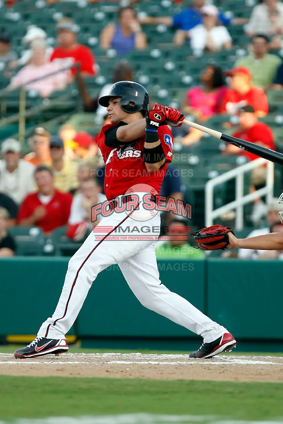 Manuel Pina - Frisco RoughRiders.2009 Texas League All-Star game held at Dr. Pepper Ballpark, Frisco, TX - 07/01/2009. The game was won by the North Division, 2-1..Photo by:  Bill Mitchell/Four Seam Images..aka Manny Pina