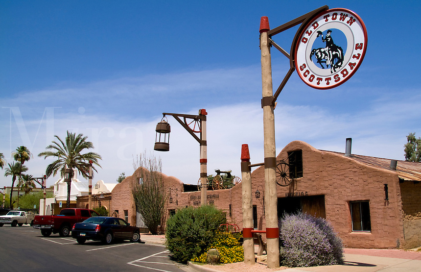 Historic Old Town, Scottsdale, Arizona, USA