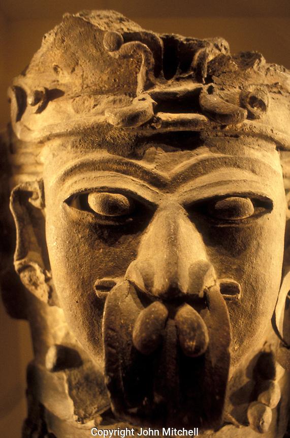 Mayan censor or incensario in the Popul Vuh Museum, Guatemala City, Guatemala