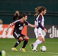 Chris Pontius, Kyle Beckerman.  D.C. United defeated Real Salt Lake, 1-0, at RFK Stadium.