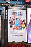 Times Square Billboard for NBC's upcoming 'Hairspray Live!' broadcast. The musical will air on Wednesday, December 7, at 8pm. Times Square on November 25, 2016 in New York City.