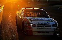 Nov. 16, 2008; Homestead, FL, USA; NASCAR Sprint Cup Series driver Elliott Sadler during the Ford 400 at Homestead Miami Speedway. Mandatory Credit: Mark J. Rebilas-