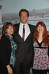 "Michael Weatherly ""Special Agent Anthony Dinozzo"" on NCIS poses with Ave (Jane's assistant) and Jane Elissa. He was ""Cooper Alden"" on Loving and The City on set. Jane Elissa had Michael Weatherly at her charity events for Leukemia and Cancer Research many years ago and now has Hats for Health. Go to Jane Elissa.com or Hats for Health.com (Photo by Sue Coflin/Max Photos)"