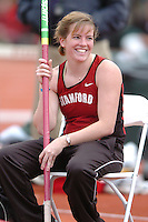 1 April 2006: Anna McFarlane during Stanford's Track & Field Invitational at Cobb Track & Angell Field in Stanford, CA.