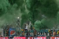 MEDELLÍN -COLOMBIA-28-05-2017: Independiente Medellín y Atletico Nacional en partido por la fecha 20 de la Liga Águila I 2017 jugado en el estadio Atanasio Girardot de la ciudad de Medellín. / Independiente Medellin and Atletico Nacional in match for date 20 of the Aguila League I 2017 at Atanasio Girardot stadium in Medellin city. Photo: VizzorImage/ León Monsalve / Cont