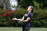 21 August 2009: Liz Bogus. The Los Angeles Sol held a training session at the Home Depot Center in Carson, California one day before playing Sky Blue FC in the inaugural Women's Professional Soccer Championship Game.