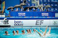 PRK - Democratic People's Republic of Korea<br /> JANG Hyon Ok JONG Na Ri<br /> KANG Un Ha KIM Ju Hye<br /> KIM Un A MIN Hae Yon<br /> RI Il Sim RI Ji Hyang<br /> RYU Mi Hyang YUN Yu JongBEJARANO Amaya<br /> Day 9 01/08/2015<br /> XVI FINA World Championships Aquatics<br /> Synchro<br /> Kazan Tatarstan RUS July 24 - Aug. 9 2015 <br /> Photo Giorgio Scala/Deepbluemedia/Insidefoto
